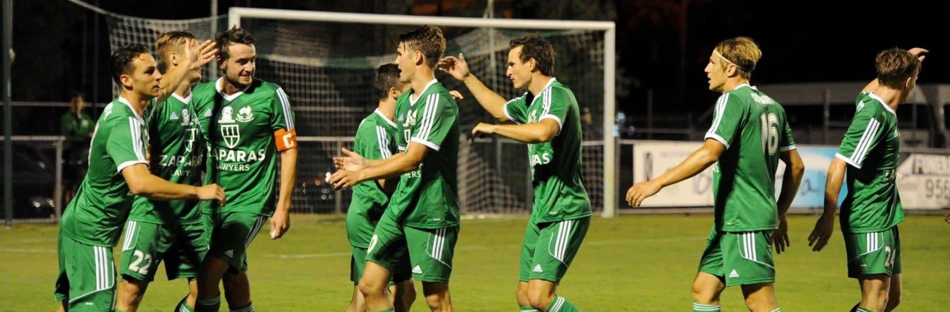 Bentleigh Greens 6-1 Richmond at Kingston Heath on Friday Night.