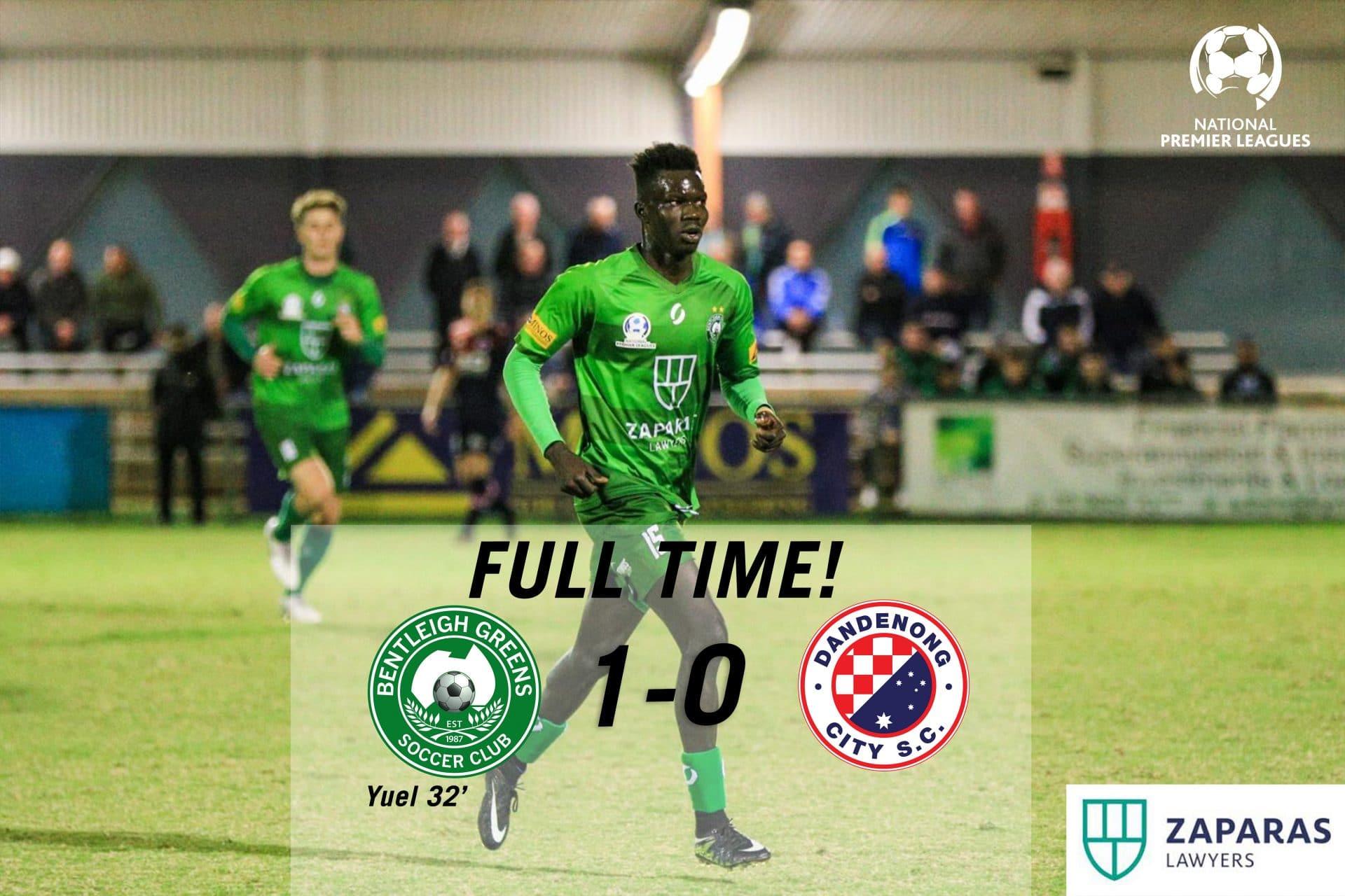 Match Report – Bentleigh Greens vs Dandenong City
